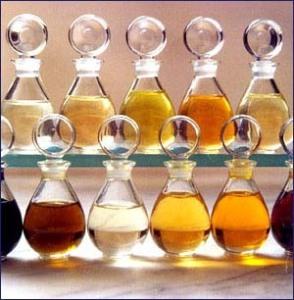 Les différents types d'huile de massage